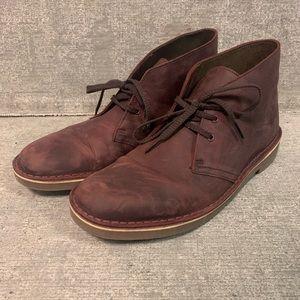 Clarks Desert Boot Men's 8.5 Oxblood